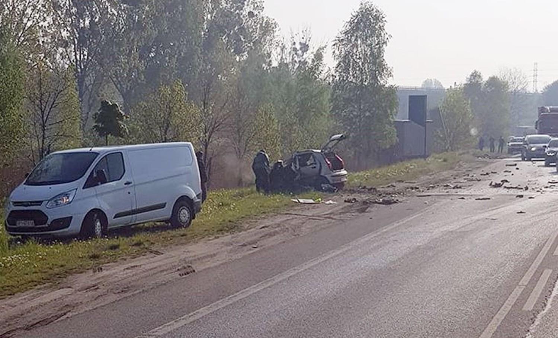 Śmiertelny wypadek na DK88 w Bytomiu
