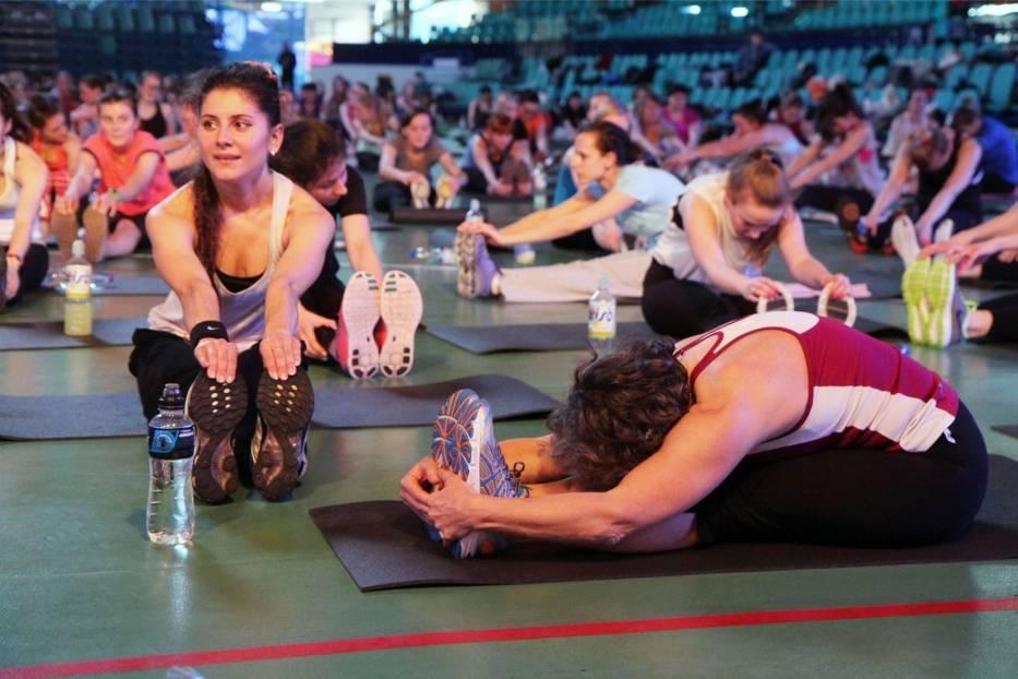 Maraton fitness Warszawa 2014. Spal zbędne kalorie