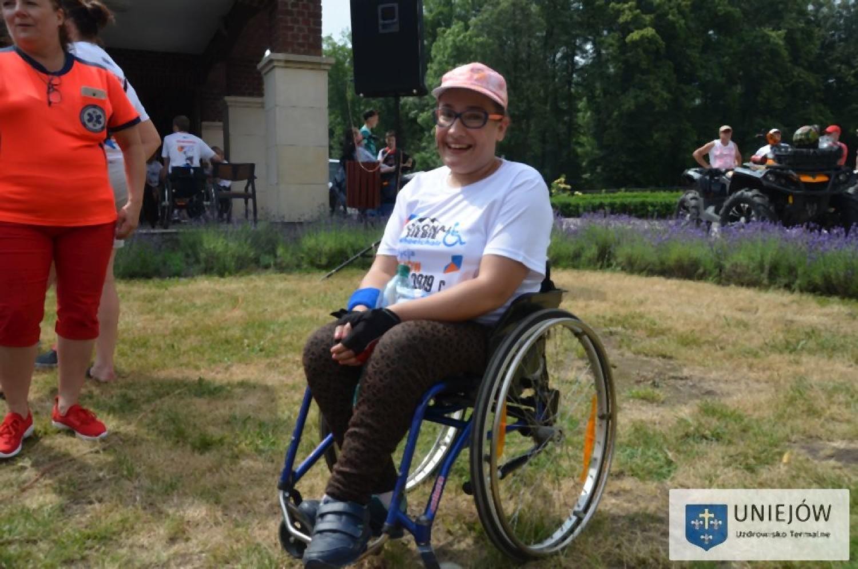 """II edycja """"Water Trial Air – Pokonaj Siebie Wheelchair"""" w Uniejowie"""