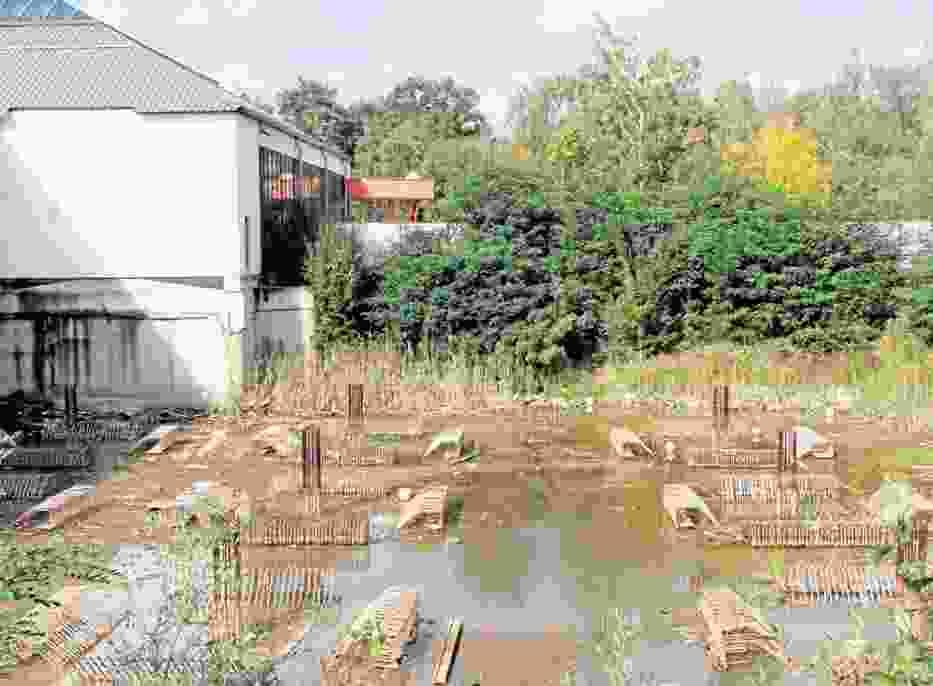 Aquapark Fala w Łodzi jest wciąż placem budowy