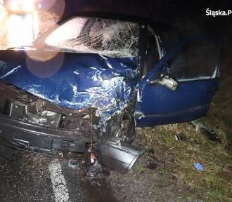 Tragiczny wypadek w Gniazdowie. Nie żyje kierowca golfa