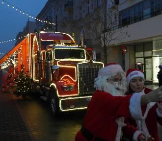 Ciężarówka Coca Coli przyjechała do Łodzi