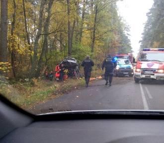 Wypadek na trasie Polnica - Człuchów. Nie żyje mężczyzna