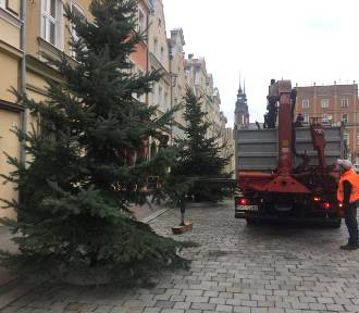 Jarmark Bożonarodzeniowy w Opolu już powstaje [ZDJĘCIA]