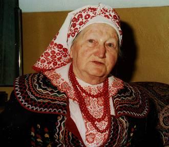 Podegrodzie żegna Bronisławę Zimowską, wspłzałożycielkę Zespołu Regionalnego