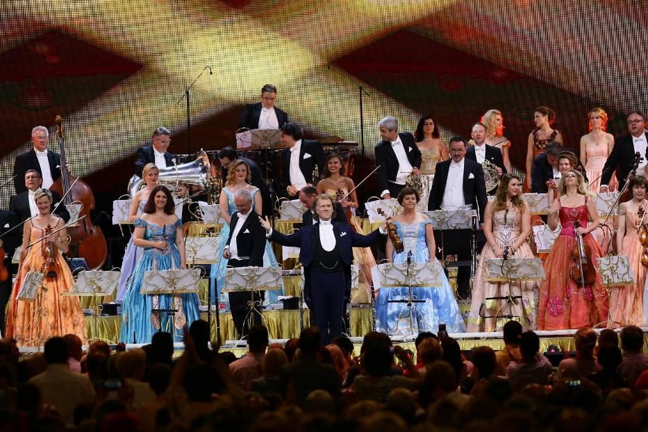 André Rieu i Orkiestra Johanna Straussa gościli już w Łodzi