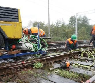 Przebudowa linii kolejowej Łódź Kaliska -Zduńska Wola na ostatniej prostej