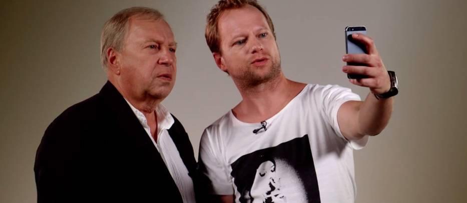 Tata i syn - Stuhrowie w nowym filmie [WIDEO]