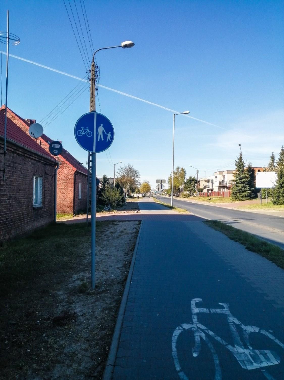 Ulica Nowowiejskiego w Szamotułach