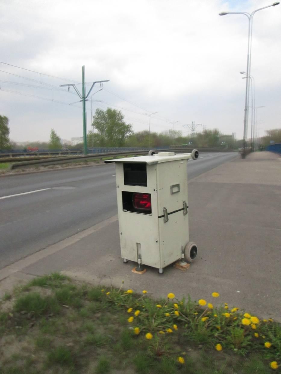 Fotoradary w Poznaniu: Prototyp(?) na Hetmańskiej