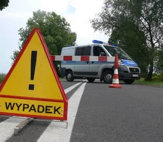 Karambol z udziałem 6 samochodów koło Wróblewa