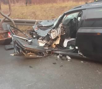 Wypadek w Sławkowie na DK 94