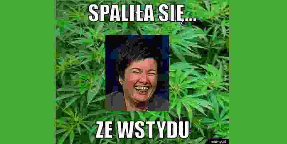 Hanna Gronkiewicz-Waltz i plantacja marihuany na działce męża.Internauci już podchwycili temat[MEMY]