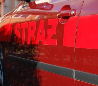 Wypadek w Smętowie Chmieleńskim - ranna 20-latka odtransportowana do szpitala