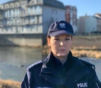 Wywiad z policjantką, która pracuje w polsko-niemieckim zespole
