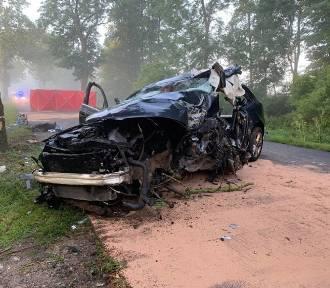 Tragiczne wypadki na drodze w powiecie oleśnickim sprzed lat [ARCHIWALNE ZDJĘCIA]