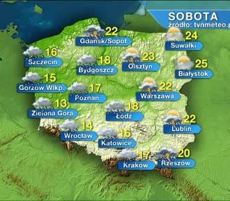 Pogoda na sobotę, 26 września