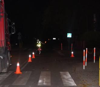 Potrącenie 11-latki na przejściu dla pieszych w powiecie aleksandrowskim. 83-letni sprawca