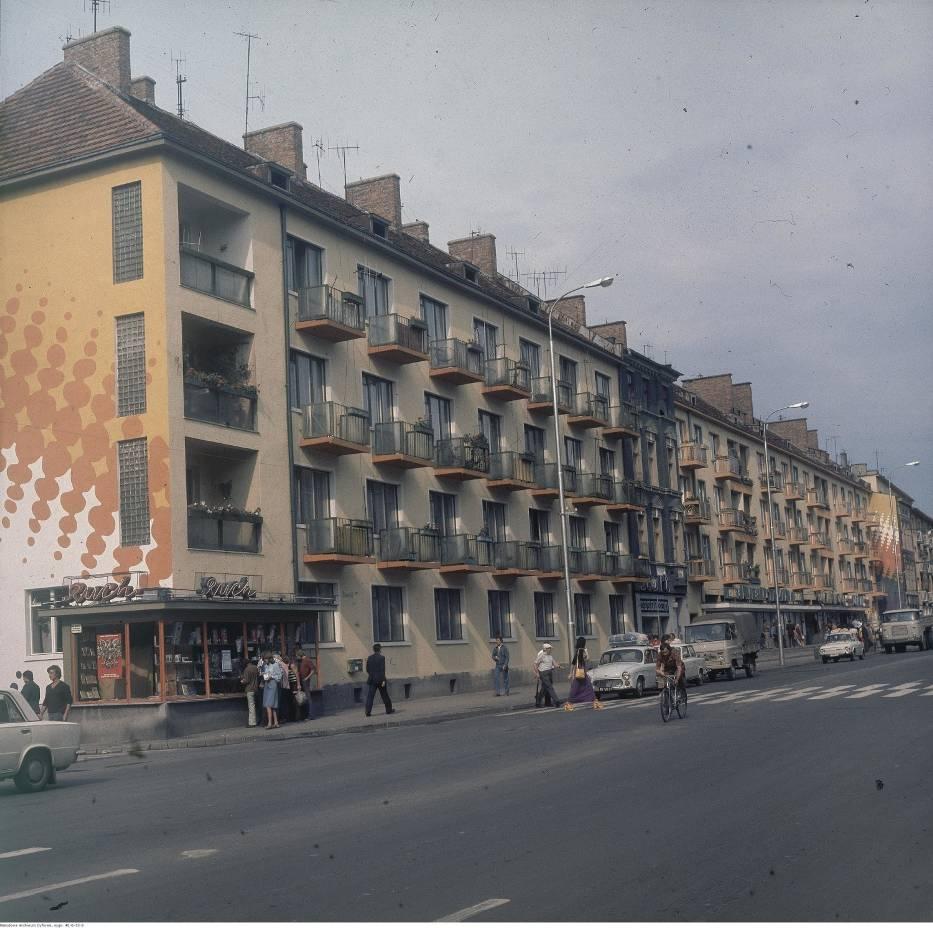 Ulica prowadząca do rynku