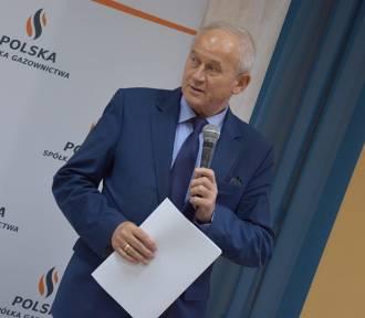 Minister Tchórzewski w Zduńskiej Woli o gazyfikacji [zdjęcia]