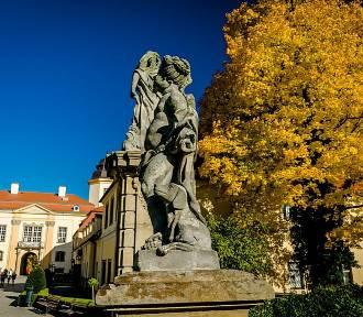 Cudowny Dolny Śląsk. Park zamku Książ w jesiennych barwach (ZDJĘCIA)