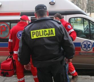 Wypadek na DK1 koło Piotrkowa. Ranne roczne dziecko
