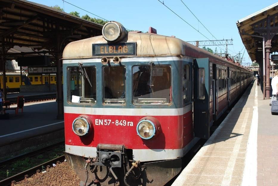 Najpopularniejszy skład Przewozów Regionalnych na stacji Gdańsk Główny