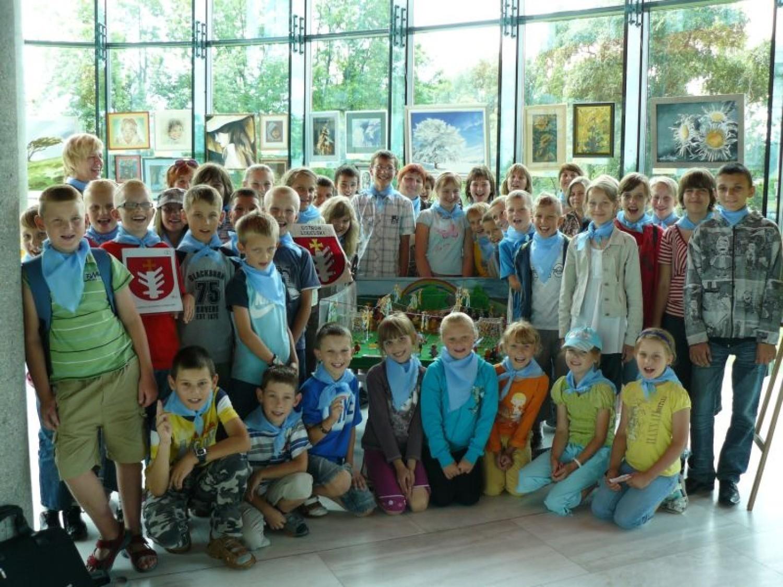 Dzieci z Kaznowa w PKOL. Fot. organizatorzy