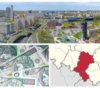 """Bogate i biedne miasta w regionie. Oto konkretne kwoty """"na głowę"""""""