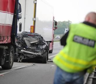 Śmiertelny wypadek na A4 - są duże utrudnienia! [ZDJĘCIA]