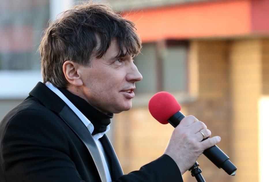 Zbigniew Kulwicki podczas koncertu