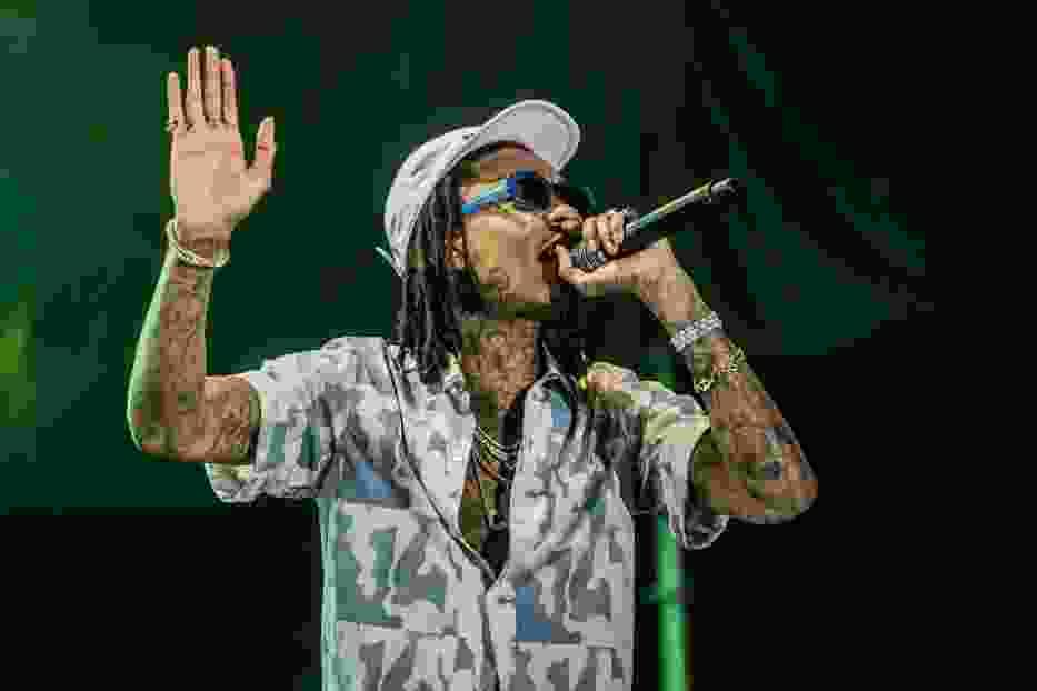 Wiz Khalifa podczas koncertu w Krakowie