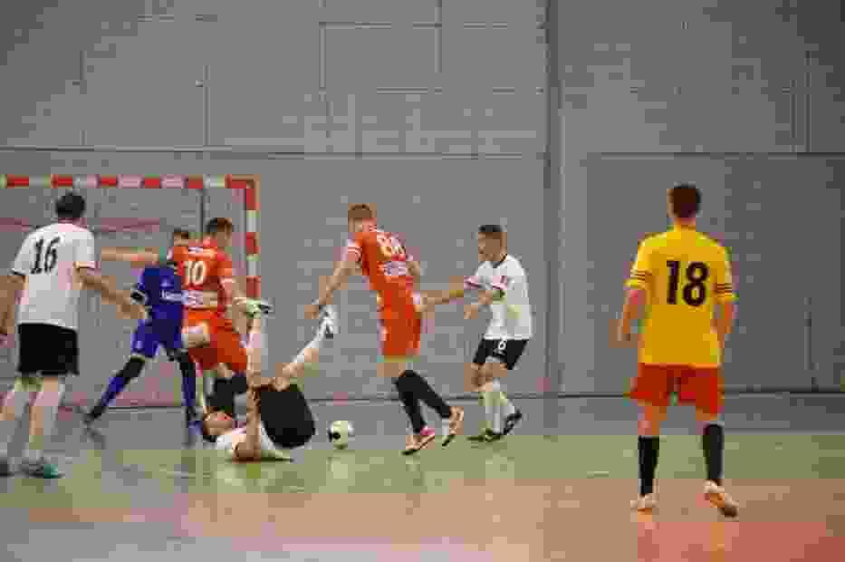 Mecz I Polskiej Ligi Futsalu w Kiełpinie: FC Kartuzy - KS Futsal Leszno