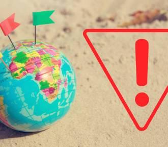 Odwołaj wakacje. To najbardziej niebezpieczne kraje świata