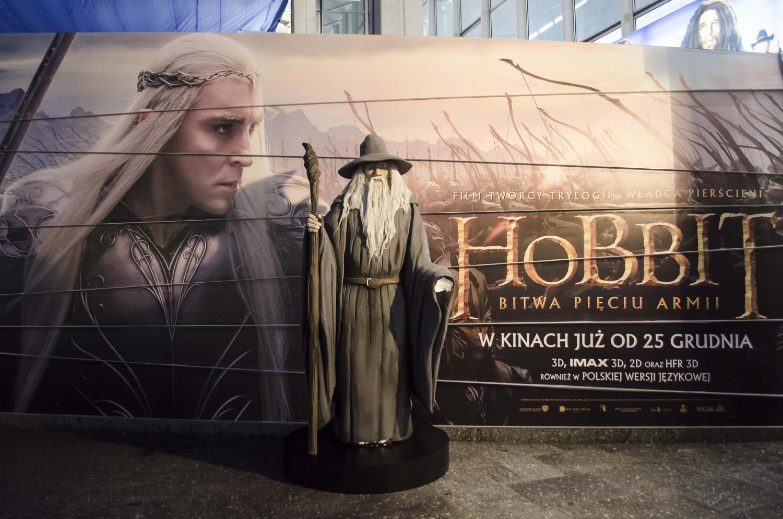Hobbit 2014, Warszawa. Zrób sobie zdjęcie z Gandalfem na Dworcu Centralnym