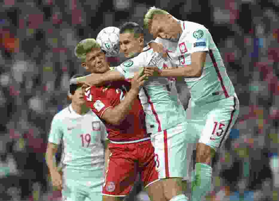 Dania - Polska 4:0. Biało-czerwoni zebrali lanie w Kopenhadze [ZDJĘCIA]