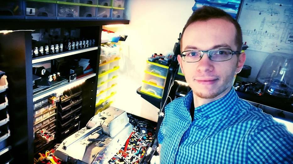 """Sariel, budowniczy z LEGO: """"Można pokazać fenomenalny talent garstką klocków"""" [Rozmowa NaM]"""