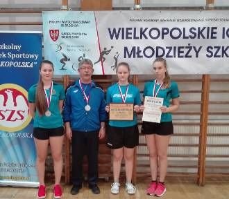Gizalskie tenisistski ze srebrnym medalem Igrzysk Młodzieży Szkolnej