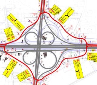 Uwaga kierowcy! Od środy zamknięty węzeł bełchatowski na A1