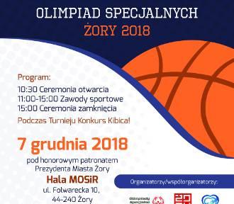 Jutro w Żorach XXI Śląski Turniej Koszykówki Olimpiad Specjalnych
