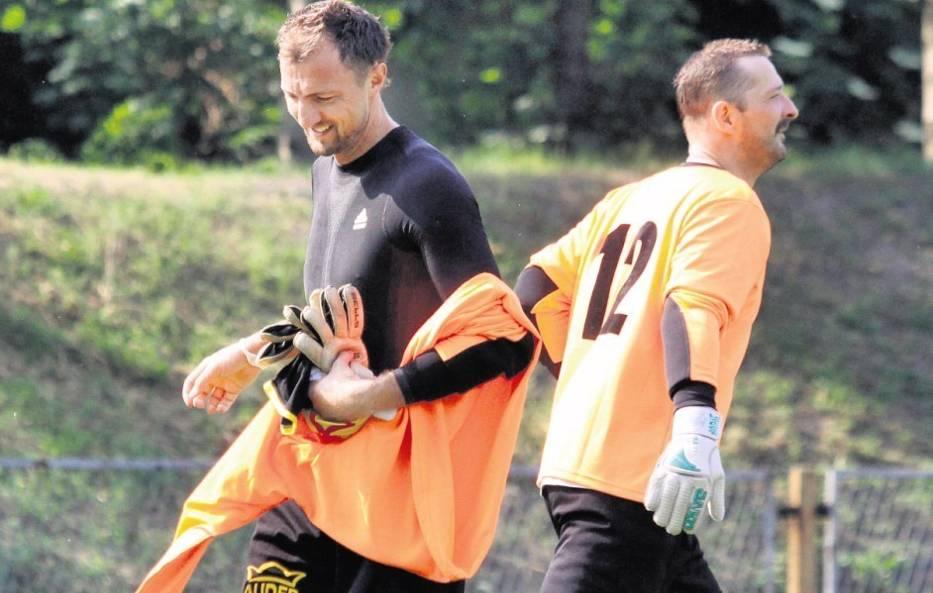 Jerzy Dudek wystąpił w Knurowie w meczu z udziałem byłych piłkarzy Concordii, zorganizowanym z okazji 70