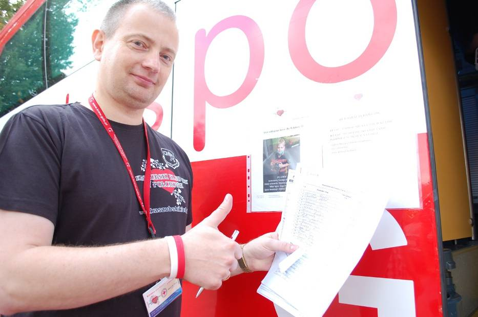 Zbiórka krwi w Połchowie