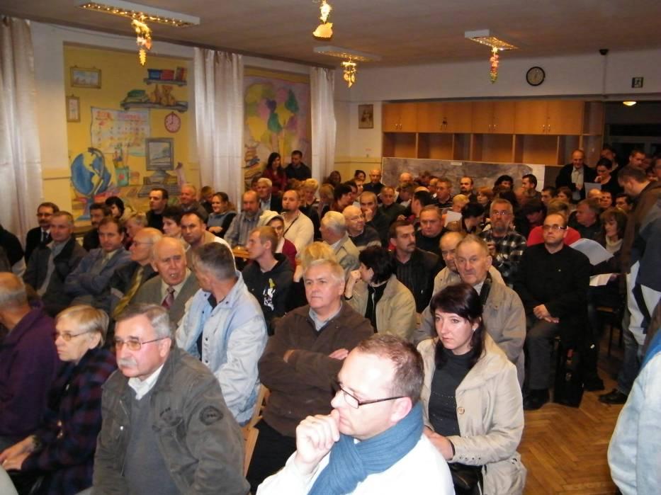 Temat budowy wschodniej obwodnicy Tarnowa już wtedy był gorący