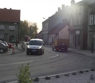 KOBYLIN: Ułożono nową nawierzchnię asfaltową w centrum miasta!