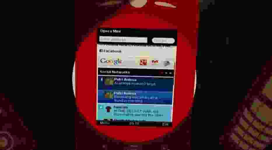 Opera Mini 7 wraz z Smart Page dostosowującym się do użytkownika