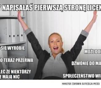 Piszesz pracę licencjacką lub magisterską? Te memy są dla Ciebie!