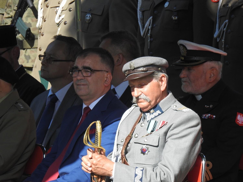 Przysięga żołnierzy WOT w Bielsku Podlaskim