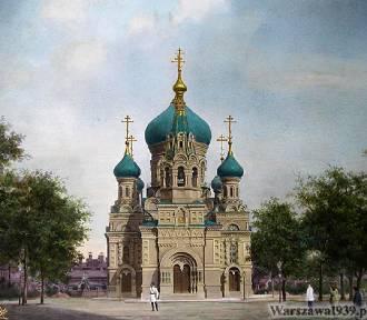 Była symbolem rosyjskiej władzy w Warszawie. Piękna cerkiew zburzona prawie sto lat temu