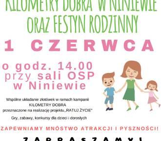Fundacja Pomocy Dzieciom Humana zaprasza na festyn do Niniewa
