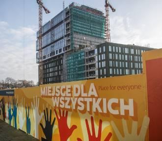 Tak powstaje nowa siedziba Allegro w Poznaniu. Zobacz zdjęcia